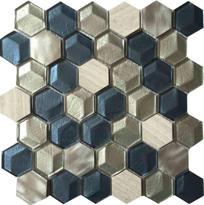 3d Hexagon Mosaic Tile Ksl 16301